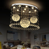 Modern Luxury Crystal Chandelier Three Sphere Shape Design - Avenila - Interior Lighting, Design & More