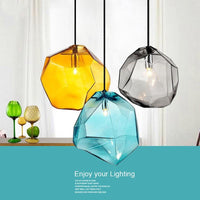 Modern Minimalist Pendant Lights Creative Colorful Glass Pendant Lamps Restaurant LED Lamps Indoor Home Lighting - Avenila - Interior Lighting, Design & More
