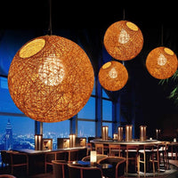 Multi-Colored LED Restaurant Pendant Ball Lights - Avenila - Interior Lighting, Design & More