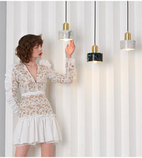 New Nordic Bedroom Beside Metal Pendant Light - Avenila - Interior Lighting, Design & More