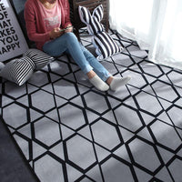 Nordic Modern Area Carpet Polyester Rug w/ 22 Styles - Avenila - Interior Lighting, Design & More