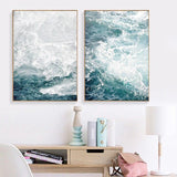 Ocean Wave Landscapes Canvas Painting Seascape Nordic Posters and Prints Home Decoration Living Room Wall Art Pictures Unframed - Avenila - Interior Lighting, Design & More