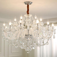 Old School Vintage Crystal Multi-Head Chandelier - Avenila - Interior Lighting, Design & More