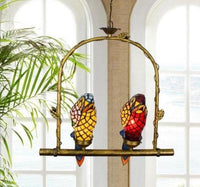 Parrot Bird Colorful Glass Chandelier - Avenila - Interior Lighting, Design & More