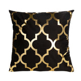 Polyester Gold Letter Pillow Case Cover - Avenila - Interior Lighting, Design & More