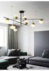 Postmodern Luxury Ball Chandelier 3-9 Heads - Avenila - Interior Lighting, Design & More