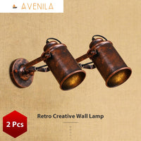 Steam Punk Vintage Wall Sconce Retro Sconce Lights