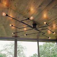 "Retro 23 1/2"" to 47 1/4"" Wide Metal Wire Branching Pendant Ceiling Lights - Avenila - Interior Lighting, Design & More"