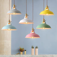 Retro Industrial Style Colorful Restaurant Pendant Lights - Avenila - Interior Lighting, Design & More