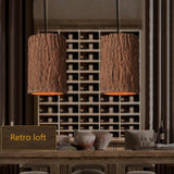 Retro Loft Nordic Stump Style Cement Pendant Lights - Avenila - Interior Lighting, Design & More