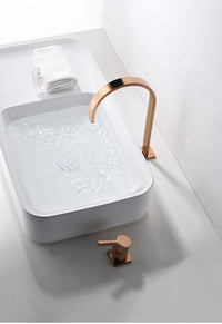 Rose Gold 360 Degree Rotating Bathroom Faucet - Avenila - Interior Lighting, Design & More