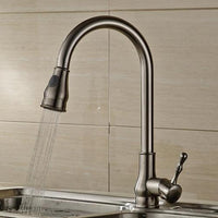 Rumi Antique Bronze Kitchen 360 Degree Pull Out Faucet - Avenila - Interior Lighting, Design & More