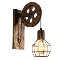 Rustic Vintage Retro Industrial Wall Light - Avenila - Interior Lighting, Design & More