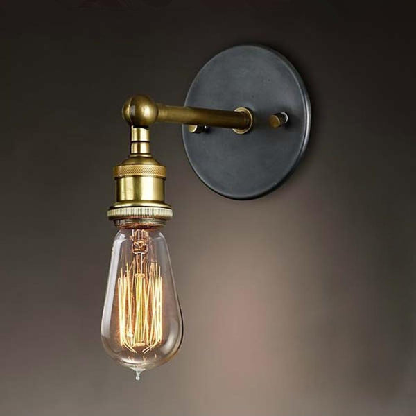 Simple Modern 180° Industrial Wall Sconce Light - Avenila - Interior Lighting, Design & More