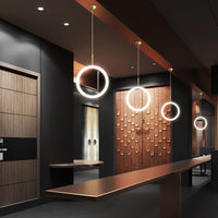 Sofrey Ring Pendant Light LED 1, 2, 3 Suspended Ceiling Lights - Avenila - Interior Lighting, Design & More