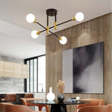 Sputnik Retro 4/6/8 Light Chandelier - Avenila - Interior Lighting, Design & More