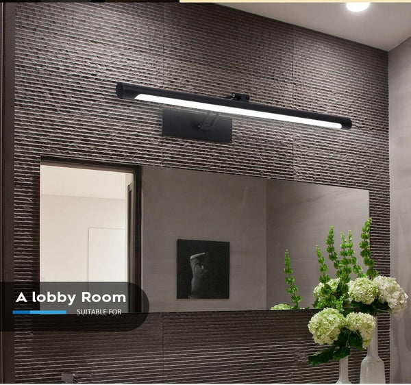 Stainless Steel LED Wall Mounted Mirror Light 8W, 12W - Avenila - Interior Lighting, Design & More