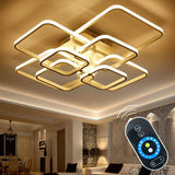 Touch Remote Dimming Modern LED Ceiling Lamp Fixture - Avenila - Interior Lighting, Design & More