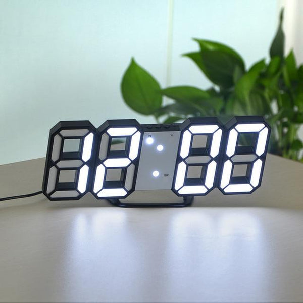 USB Powered LED Digital Clock for Wall Design - Avenila - Interior Lighting, Design & More