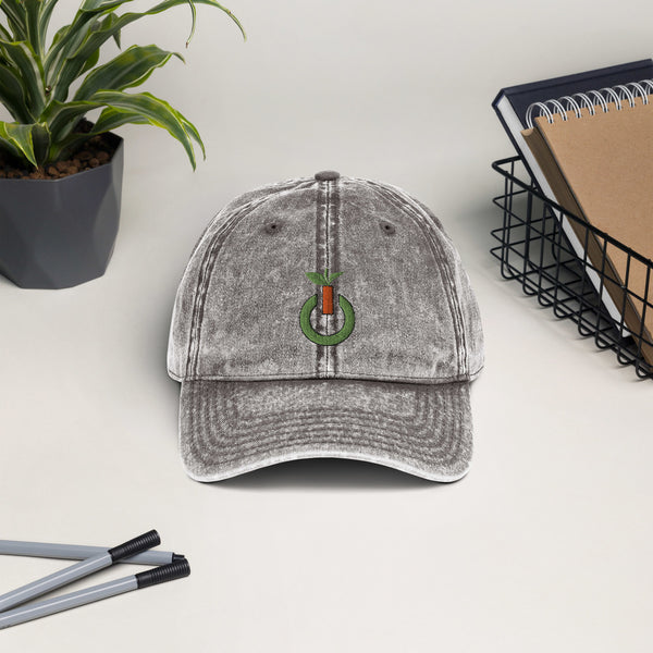 Plant Powered Vintage Cotton Twill Cap