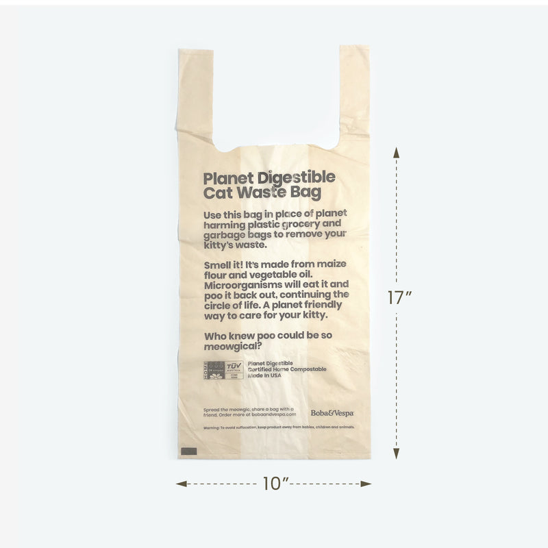Planet Digestible Cat Litter Bags