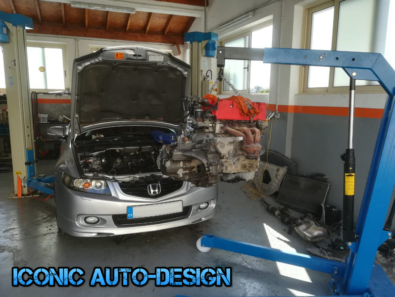 Honda Accord K20a6 to K20Z4 Engine Conversion