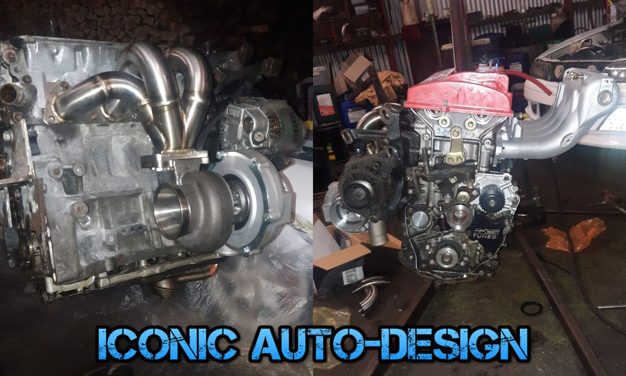 Honda Integra DC2 H22a Turbo build