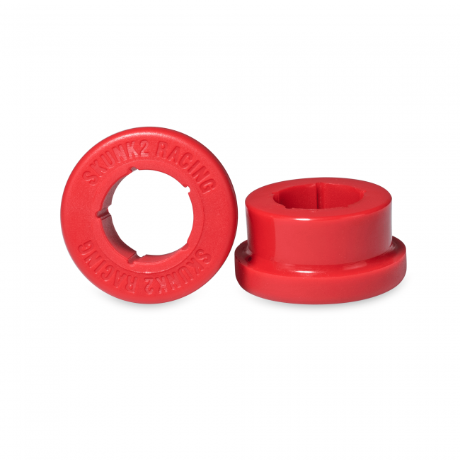 SKUNK2 ALPHA SERES LARGE REAR LCA BUSHING REPLACEMENT KIT -RED