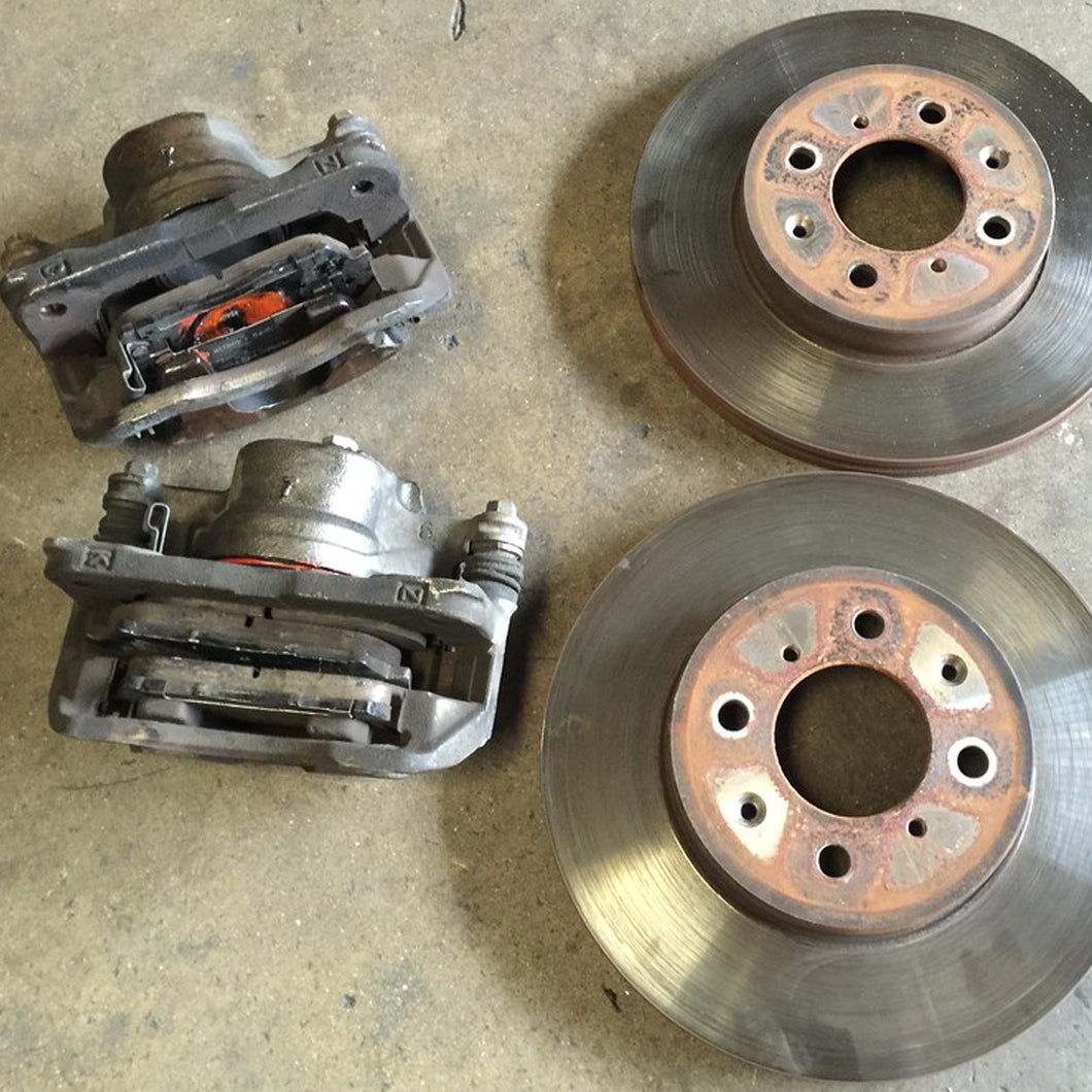 Honda Integra DC2 Type-R 4x114 Front Brake Calipers and Discs