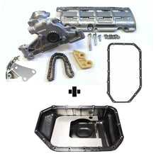 Load image into Gallery viewer, HONDA K20A2 K24 EP3 / DC5 OIL PUMP CONVERSION KIT WITH STEEL BAFFLED SUMP