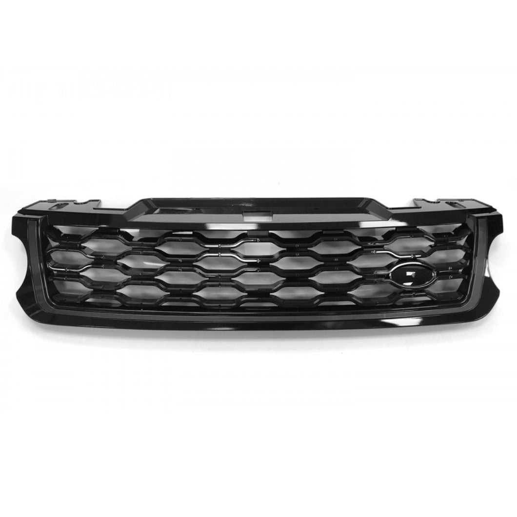 ICONIC AUTO DESIGN GRILLE (2018 STYLE) FOR L494 SPORT 2013 BLACK/BLACK/GREY