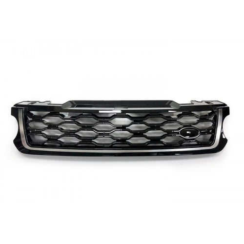 ICONIC AUTO DESIGN GRILLE (2018 STYLE) TO SUIT L494 SPORT FIT 2013 BLACK/BLACK/SILVER
