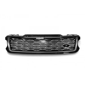 ICONIC AUTO DESIGN GRILLE (2018 STYLE) FOR L494 SPORT 2013 BLACK/SILVER/SILVER