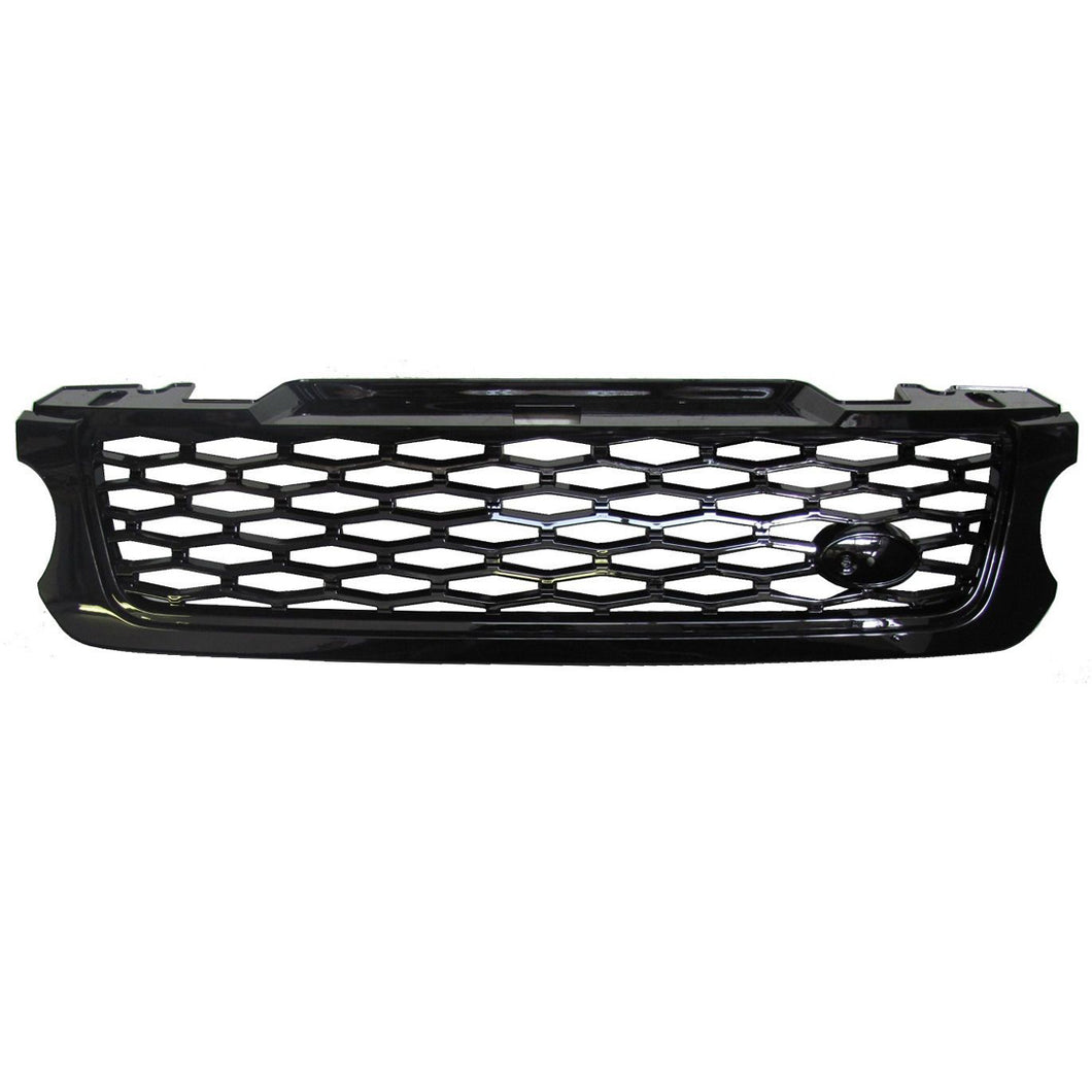ICONIC AUTO DESIGN SVR STYLE GRILLE FOR 2013 L494 SPORT BLACK/BLACK