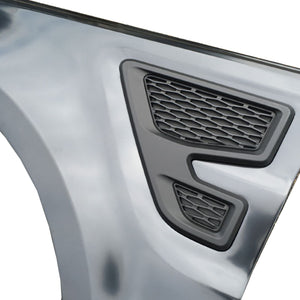 ICONIC AUTO DESIGN WING VENTS TO SUIT L494 RANGE ROVER SPORT SVR GLOSS BLACK