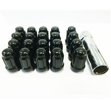 Load image into Gallery viewer, ICONIC AUTO DESIGN 12x1.25 STEEL SLIMLINE WHEEL NUTS 20 PACK  - COLOUR OPTIONS