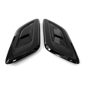 ICONIC AUTO DESIGN BONNET VENTS TO SUIT SPORT L494 2013 GLOSS BLACK