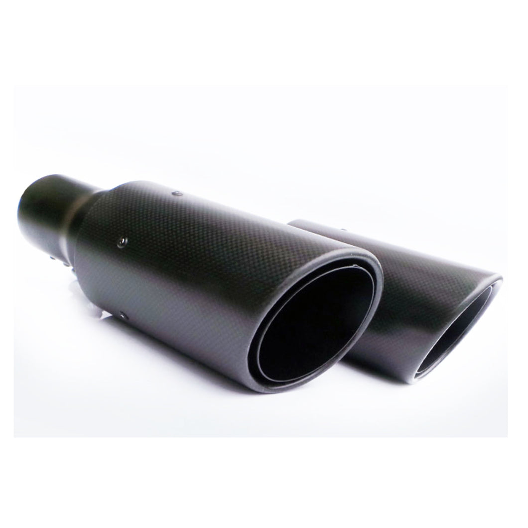 ICONIC AUTO DESIGN EXHAUST TIPS TO SUIT L320 SPORT 2010 CARBON SHELL