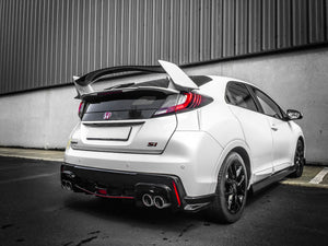 Honda Civic FK2 Replica Type R rear diffuser