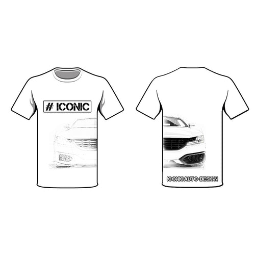 ICONIC AUTO DESIGN - CAR BUILDING T-SHIRT