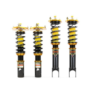 YELLOW SPEED RACING YSR DYNAMIC PRO SPORT COILOVERS HONDA CIVIC TYPE R FN2