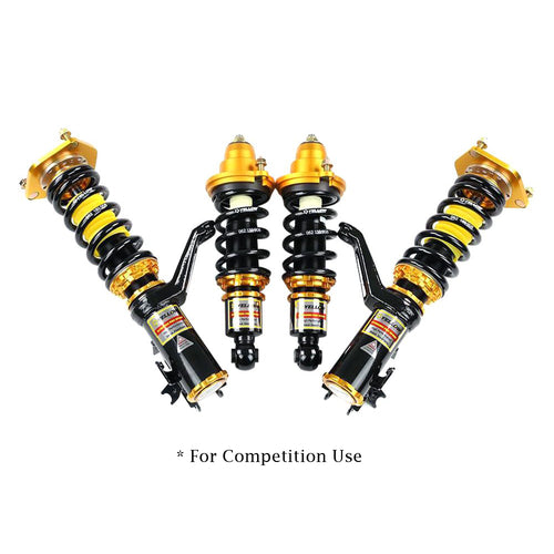 YELLOW SPEED RACING YSR PREMIUM COMPETITION COILOVERS HONDA CIVIC EP3 CAMBER CASTER UPGRADE