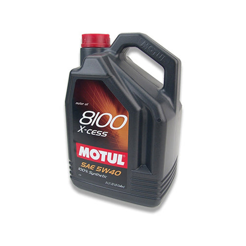 MOTUL 5W 40 X-cess Fully Synthetic 5 Litre Oil Drum