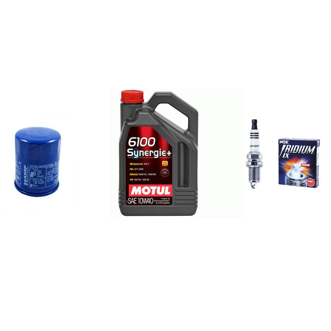 Honda B / D and H series Motul oil / Hamp oil filter and NGK plugs Service pack