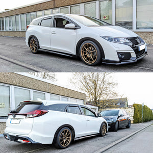 Honda Civic 2015-2017 Estate FK2 Type R Replica Side Skirts