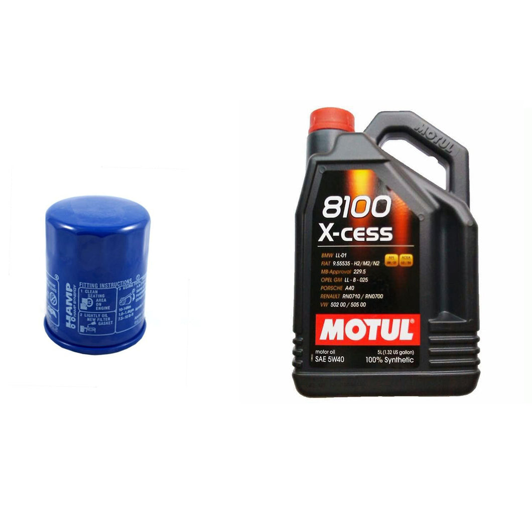 Honda K series Motul oil and Hamp oil filter