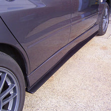 Load image into Gallery viewer, lancer evo 7 8 9 side skirt extensions