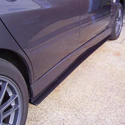 lancer evo 7 8 9 side skirt extensions