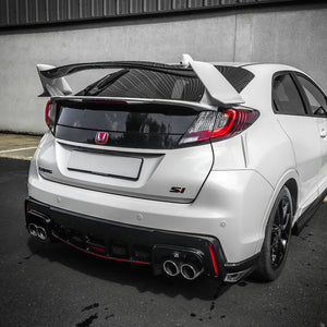 honda civic 2015 rear lip diffuser fk2 style