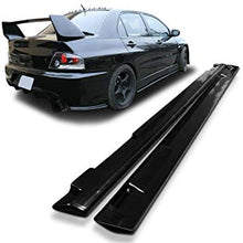 Load image into Gallery viewer, Mitsubishi Lancer Evolution 7 , 8 and 9 Side skirt Extensions